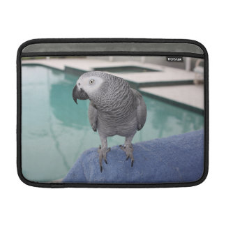 Fiesta en la piscina del gris africano fundas macbook air