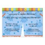 Fiesta en la piscina - el cumpleaños de los chicas comunicado personal