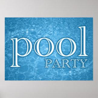 fiesta en la piscina: starshine póster