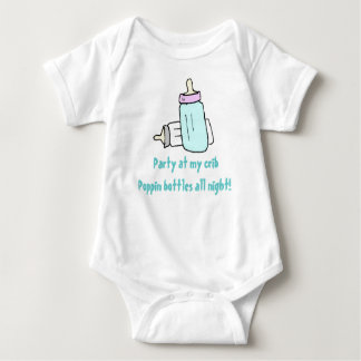 Fiesta en mi pesebre body para bebé