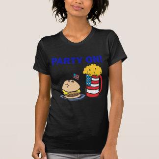 Fiesta encendido camisetas