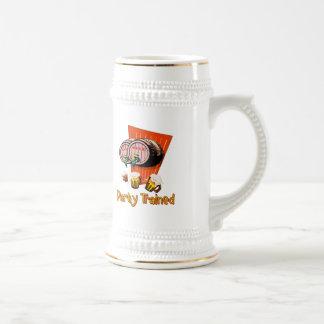 Fiesta entrenado jarra de cerveza