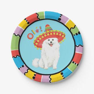 Fiesta Eskie Paper Plate
