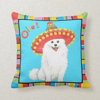 Fiesta Eskie Throw Pillow