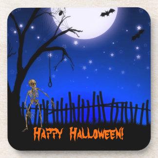 Fiesta espeluznante y asustadizo de Halloween Posavasos