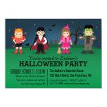 Fiesta fantasmagórico lindo de Halloween de los Invitación 11,4 X 15,8 Cm