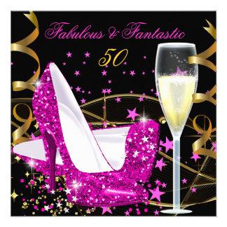 Fiesta fantástico fabuloso del oro de 50 talones d