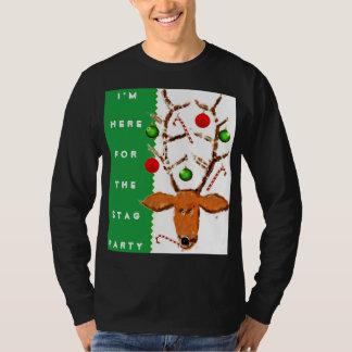 Fiesta feo del suéter del navidad