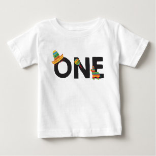 Fiesta First Birthday Shirt