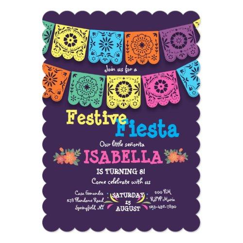 Fiesta Flags Invitation