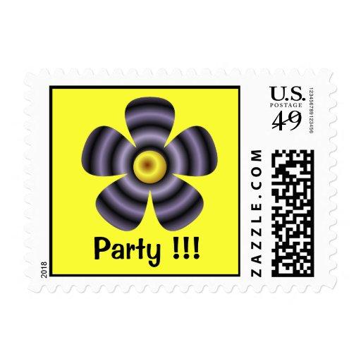 fiesta floral sello