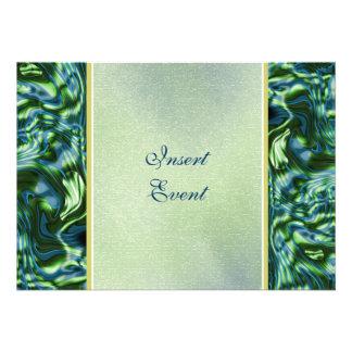 Fiesta formal elegante verde del trullo