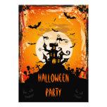 Fiesta frecuentado de Halloween del castillo Invitacion Personalizada