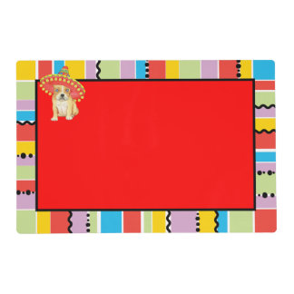 Fiesta Frenchie Placemat