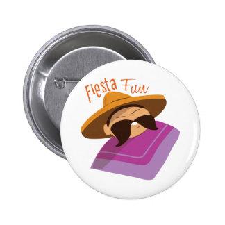 Fiesta Fun 2 Inch Round Button
