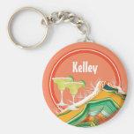 Fiesta Fun Party Basic Round Button Keychain