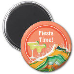 Fiesta Fun Party Fridge Magnets