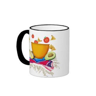 Fiesta Fun Party Ringer Coffee Mug