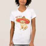 Fiesta Golden Retriever T-shirts