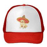 Fiesta Golden Retriever Trucker Hats