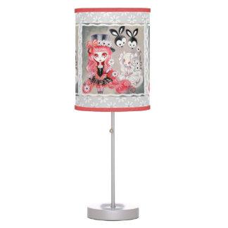 Fiesta gótico dulce lámpara de mesa