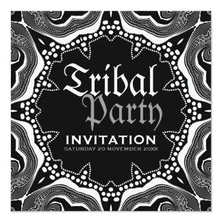 Fiesta gótico medieval tribal blanco negro