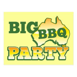Fiesta grande AUSTRALIANO del Bbq Postal