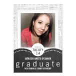 Fiesta gris del graduado de la foto de la pizarra  anuncios