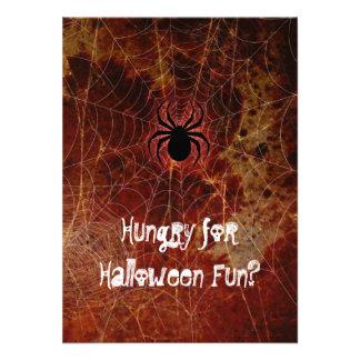 Fiesta hambriento de Halloween de la araña Comunicados