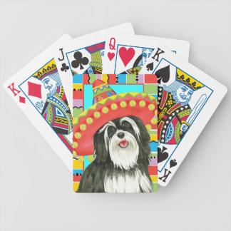 Fiesta Havanese Bicycle Playing Cards