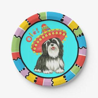 Fiesta Havanese Paper Plate