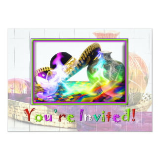 Fiesta Inviation - Mexican Party Card