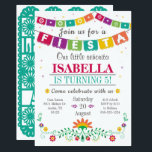 "Fiesta Invitation - Birthday Invitation All Ages<br><div class=""desc"">This invite is perfect for all ages,  it&#39;s colorful and fun!</div>"