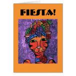 Fiesta Invitation Greeting Card