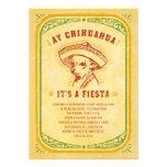Fiesta Invitations - Aye Chihauhau Vintage Mexican