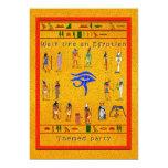 Fiesta jeroglífico anuncios