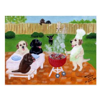 Fiesta Labradors del Bbq Postal