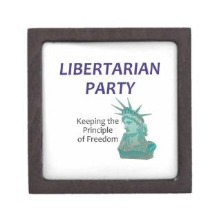 Fiesta libertario de la CAMISETA Cajas De Joyas De Calidad