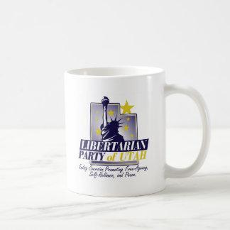 Fiesta libertario del logotipo de Utah Taza Clásica