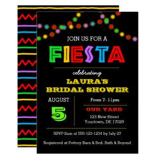 Fiesta Lights Shower Invitation
