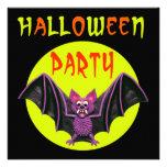 Fiesta lindo de Halloween del palo Invitacion Personalizada