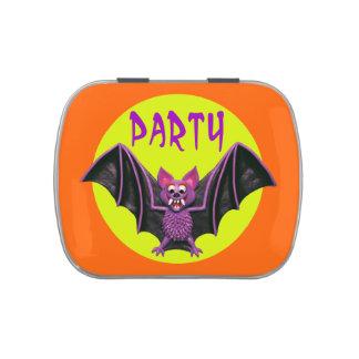 Fiesta lindo de Halloween del palo Latas De Dulces
