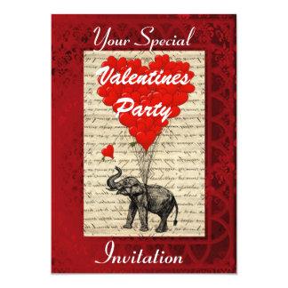 Fiesta lindo divertido de las tarjetas del día de invitaciones personales