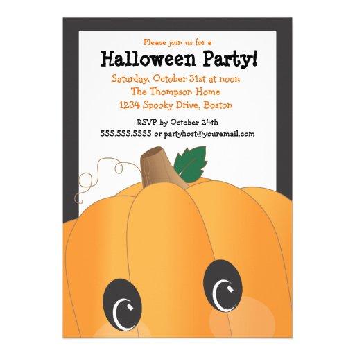 Fiesta lindo fantasmagórico de Halloween de la cab Anuncio Personalizado