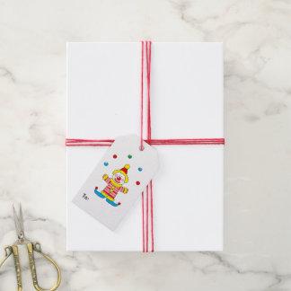 Fiesta lindo modificado para requisitos etiquetas para regalos