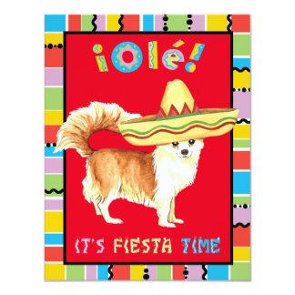 Fiesta Long Coat Chihuahua Card