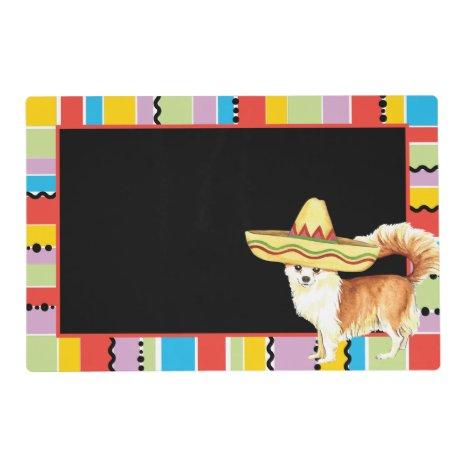 Fiesta Long Coat Chihuahua Placemat