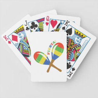 Fiesta Maracas Bicycle Playing Cards