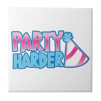 ¡Fiesta más difícilmente! con el gorra del fiesta Azulejos Ceramicos