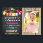 "Fiesta Mexican Birthday Party Invitation<br><div class=""desc"">♥ A perfect way to invite your guests to your little one&#39;s birthday party!</div>"